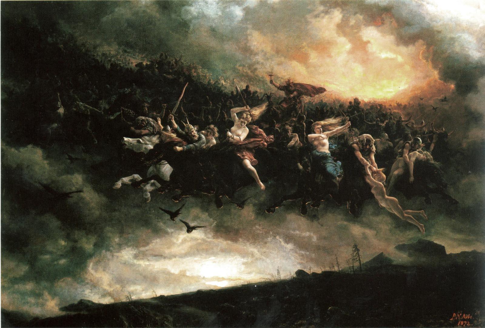 Åsgårdsreien (1872) – tranh của Peter Nicolai Arbo