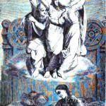 Óðinn và các norns (1875) – tranh của William Zimmermann