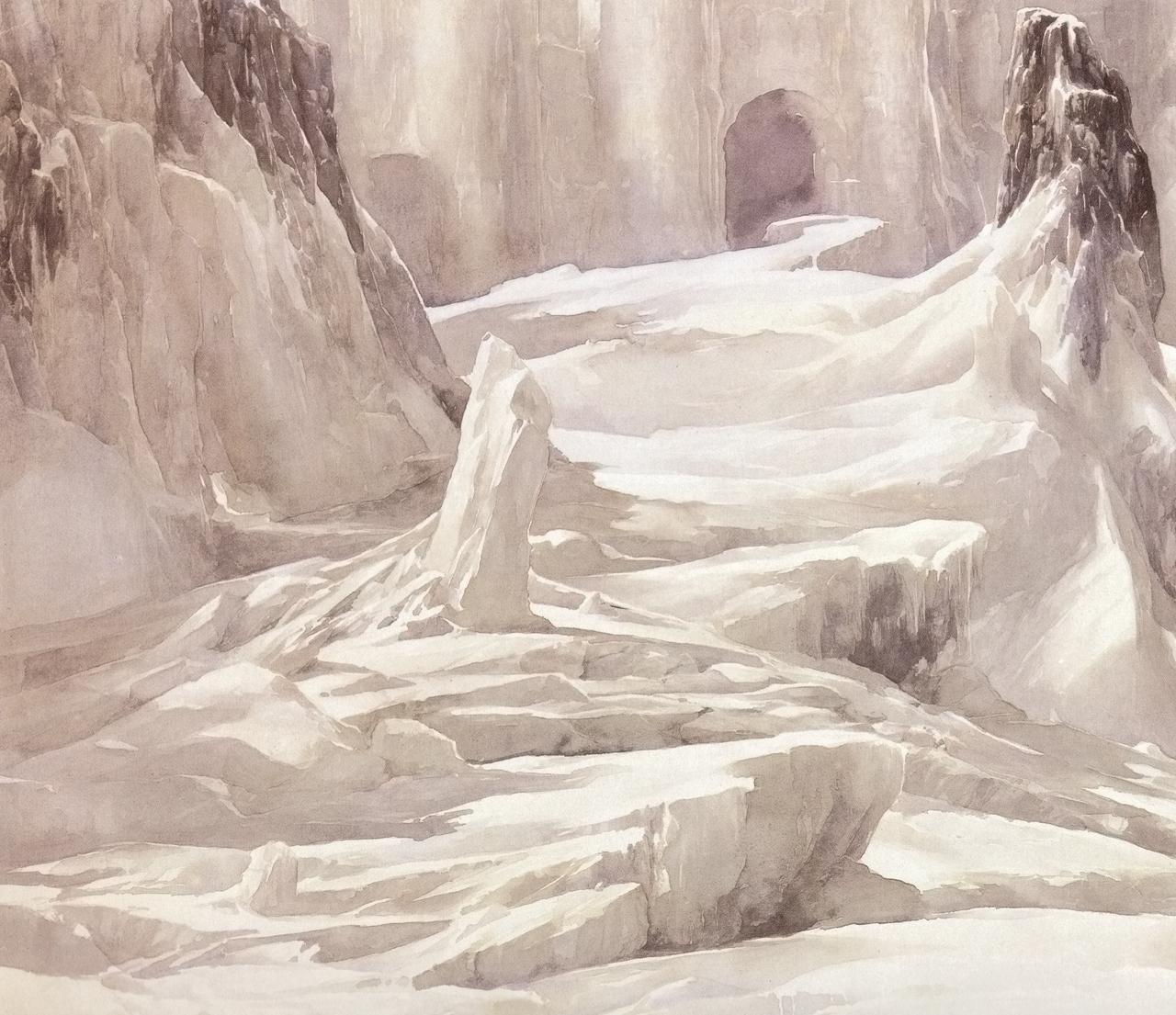 Útgarðar (1984) – tranh của Alan Lee