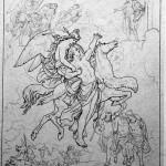 Đưa người lên Valhalla (1885) – tranh của Lorenz Frølich