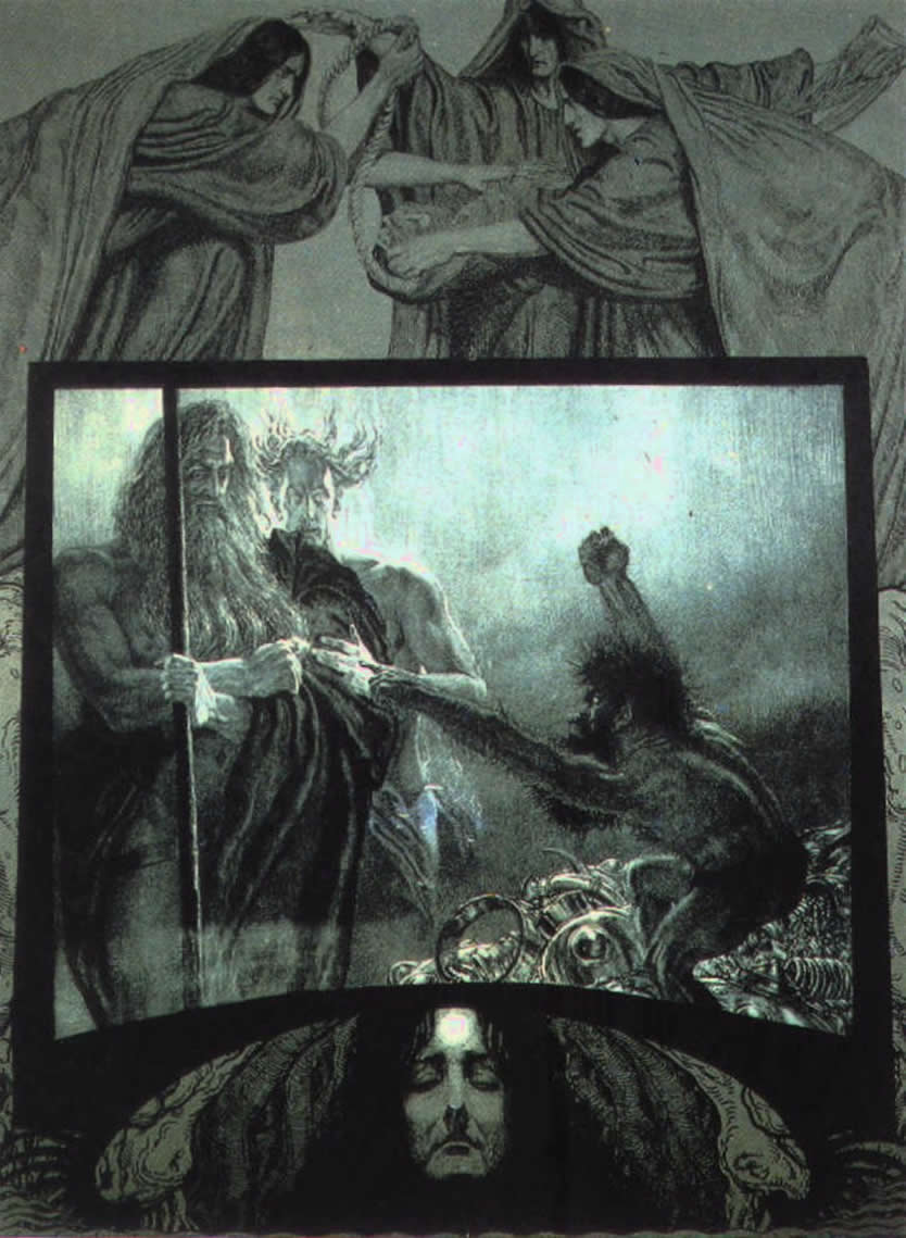 Andvari (1914) – tranh của Franz Stassen