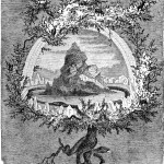 Cây tần bì Yggdrasil (1885) – tranh của Frederich Wilhelm Heine