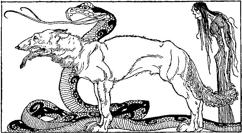 Những đứa con của Loki (1920) – tranh minh họa của Willy Pogany
