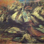 Chuyến đi của Valkyrie (1890) – tranh của Henry de Groux
