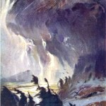 Chuyến đi của Valkyrie (1906) – tranh minh họa của Hermann Hendrich