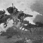 Chuyến đi của Valkyrie (1909) – tranh của John Charles Dollman