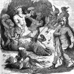 Fenrir bị xiềng (1882 ) – tranh của Karl Ehrenberg