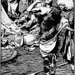 Höðr và Loki (1901) – tranh của Arthur Rackham