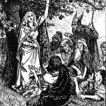 Những quả táo của Iðunn (1891) - tranh của George Percy Jacomb-Hood