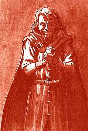 Kẻ lừa đảo Loki – tranh của Tudor Humphries