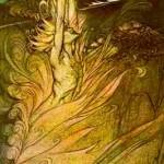 Lửa thần của Loki – tranh của Arthur Rackham