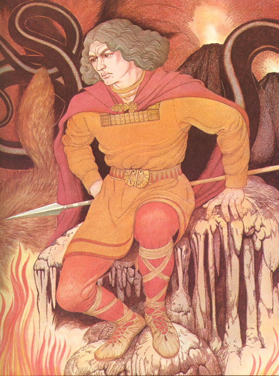 Loki – tranh của Giovanni Caselli