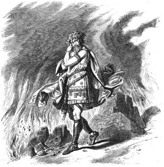 Loki (1882) – tranh của Carl Emil Doepler Sr.