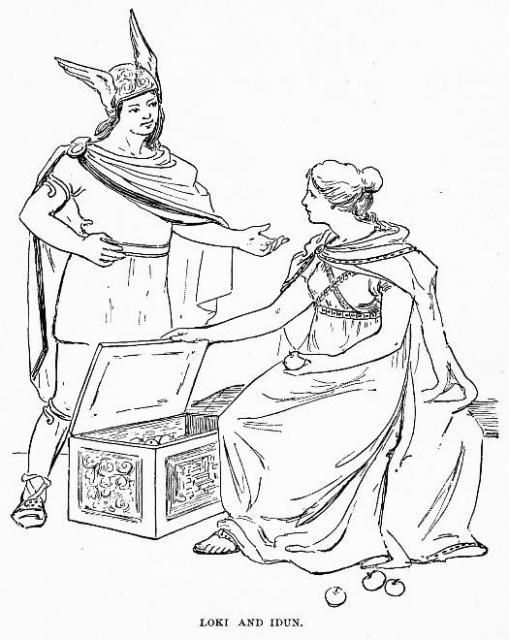 Loki và Iðunn – khuyết danh