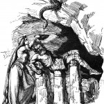 Loki và Sigyn (1865) – tranh của Ludwig Pietsch