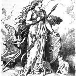 Freyja (1901) - tranh minh họa của Johannes Gehrts