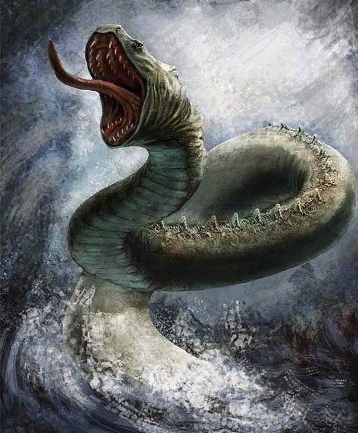 Rắn Miðgarðr – khuyết danh