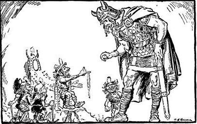 Người lùn làm ra Gleipnir (1930) – tranh của Charles E. Brock