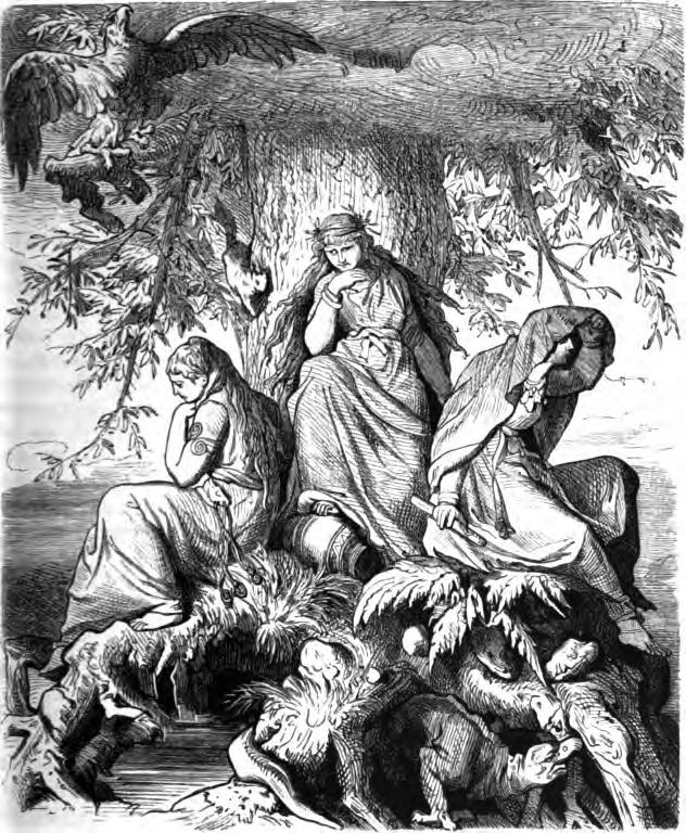 Norns (1882) – tranh của Ludwig Burger