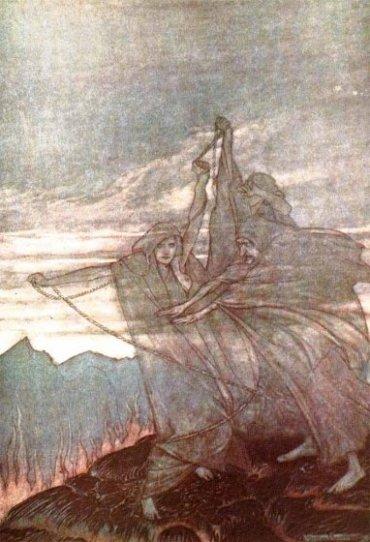 Norns (1911) – tranh của Arthur Rackham