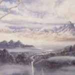 Rễ cây Yggdrasil (1984) – tranh của Alan Lee