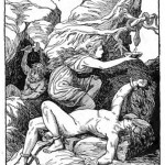 Sự trừng phạt cho Loki – tranh của H.L.M.