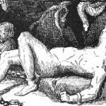 Sự trừng phạt cho Loki (1894) – tranh của A. Chase