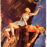 Sự trừng phạt cho Loki (1938) – tranh của Wilhelm Petersen