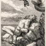 Sự trừng phạt dành cho Loki – tranh của Louis Huard