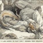 Sigurðr đối đầu với Fáfnir – khuyết danh