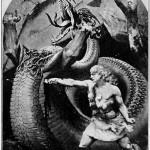 Sigurðr chiến đấu với rồng Fáfnir (1914) – khuyết danh