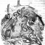 Sigurðr giết Fáfnir (1865) – tranh của Ludwig Pietsch