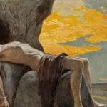 Sigyn và Loki (1905) – tranh của Carl Emil Doepler Jr.