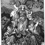 The Norns (1901) – tranh của  Karl Ehrenberg