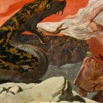 Þórr và Rắn Miðgarðr tại Ragnarök – khuyết danh