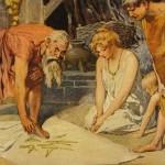 Thuật tiên tri (1905) – tranh của Carl Emil Doepler Jr.