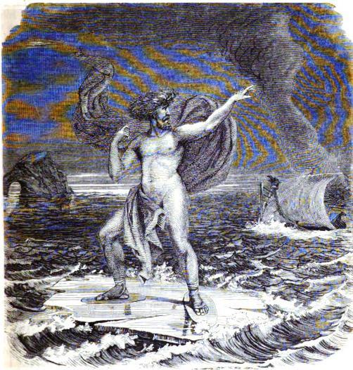 Víðarr (1882) – tranh của Wilhelm Engelhard