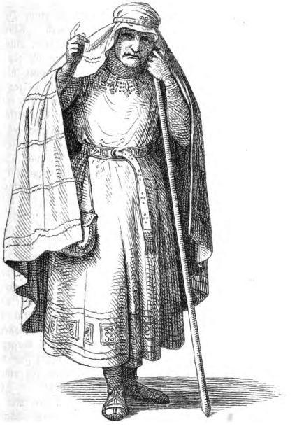 Völva – tranh của Constantin Hansen