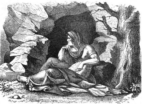 Völva (1882) – tranh của Karl Ehrenberg