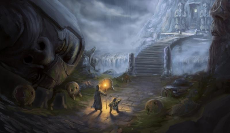 Vương quốc người lùn – tranh minh họa của Yasemin Baran