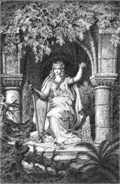 Vǫlva (1902) – tranh của R.E. Kepler
