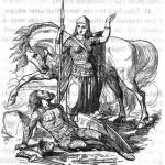 Valkyrie (1865) – tranh minh họa của Ludwig Pietsch