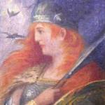 Valkyrie (1906) – tranh minh họa của Hermann Hendrich