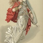 Valkyrie 2 (1876) – tranh của Carl Emil Doepler Sr.