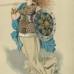 Valkyrie 5 (1876) – tranh của Carl Emil Doepler Sr.