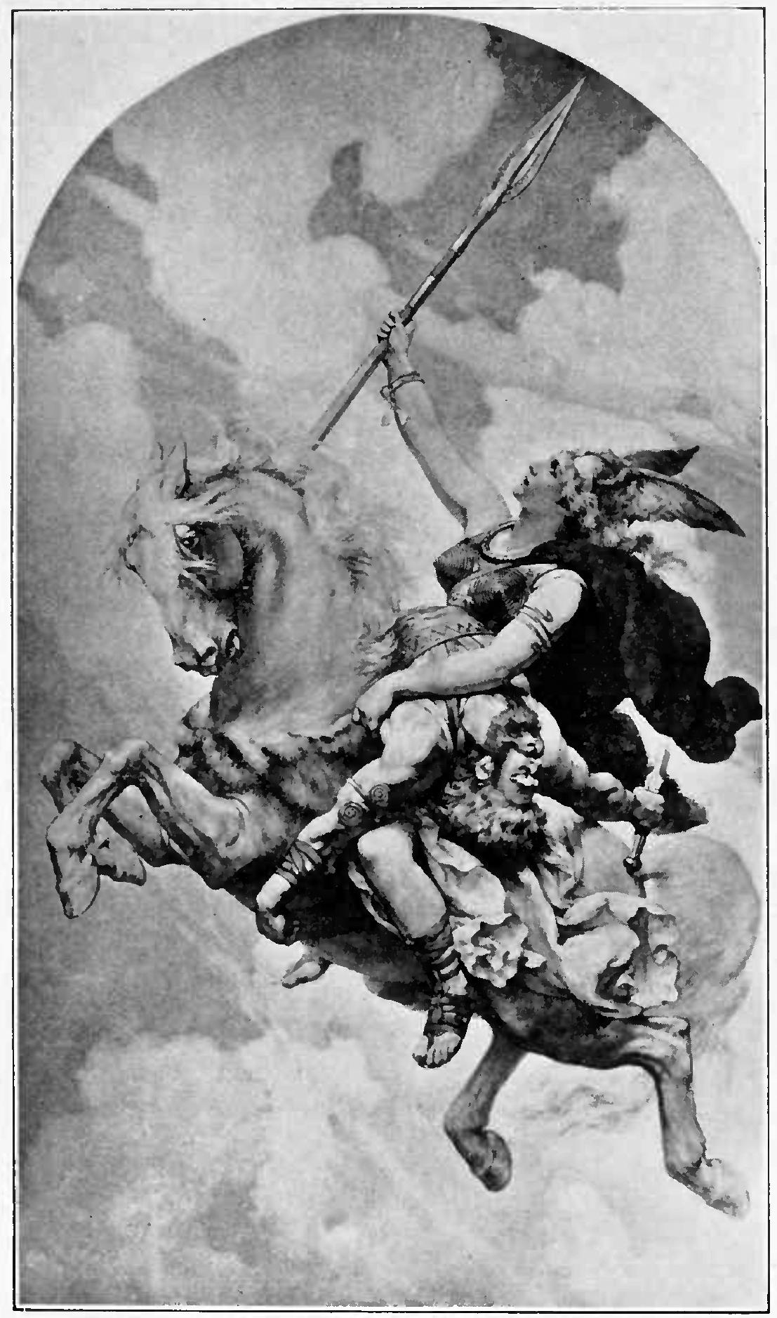 Valkyrie mang tử sĩ về Valhalla (1914) – khuyết danh
