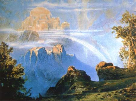 Walhalla (1896) – tranh của Max Brückner