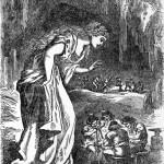 Freyja và người lùn (1891) - tranh minh họa của Louis Huard