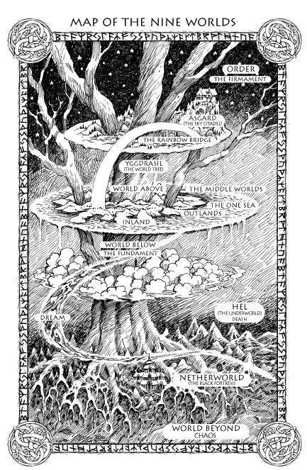 Yggdrasil (2007) – tranh của Joanne Harris