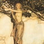 Iðunn (1910) - tranh của Arthur Rackham